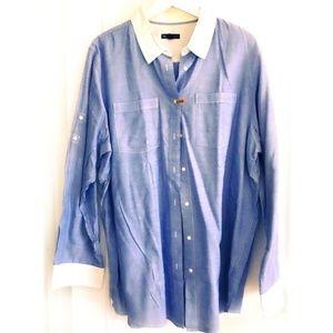 ❣️2 for $30 Gap boyfriend shirt, XL